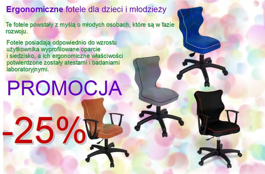 Ergonomiczne krzesła dla dzieci