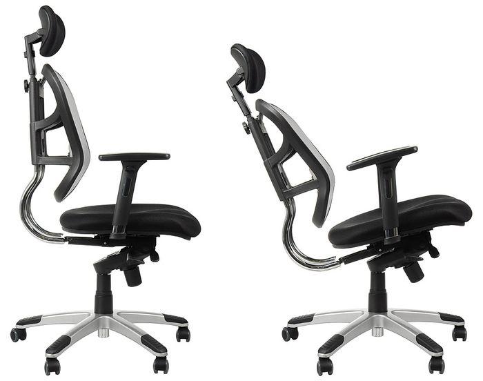 Fotel Biurowy Obrotowy Ef Hn5018 Czarny Krzesła Biurowe Obrotowe