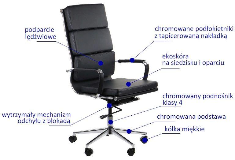fotel obrotowy VALERA