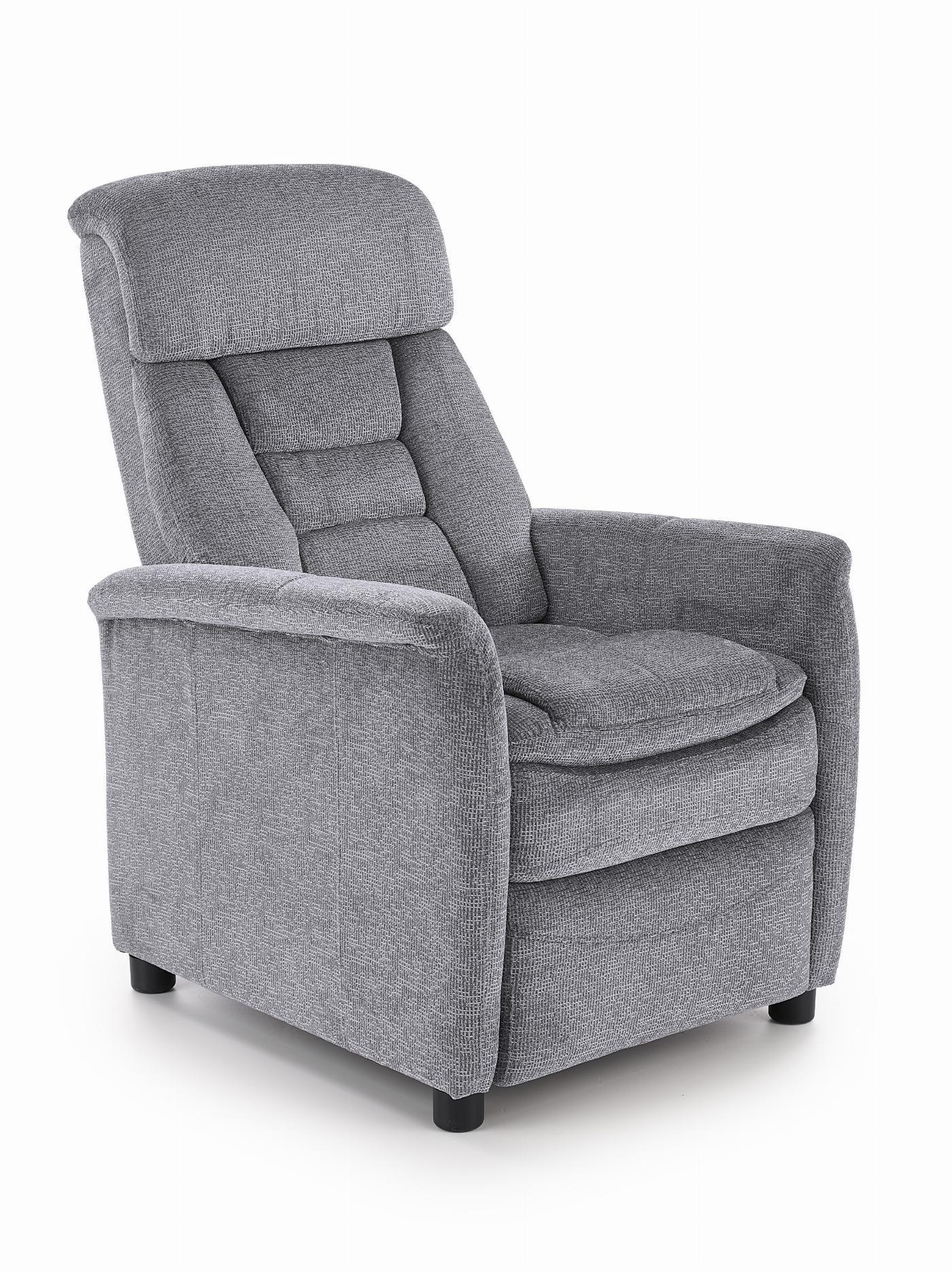 JORDAN fotel wypoczynkowy popielaty (1p=1szt)
