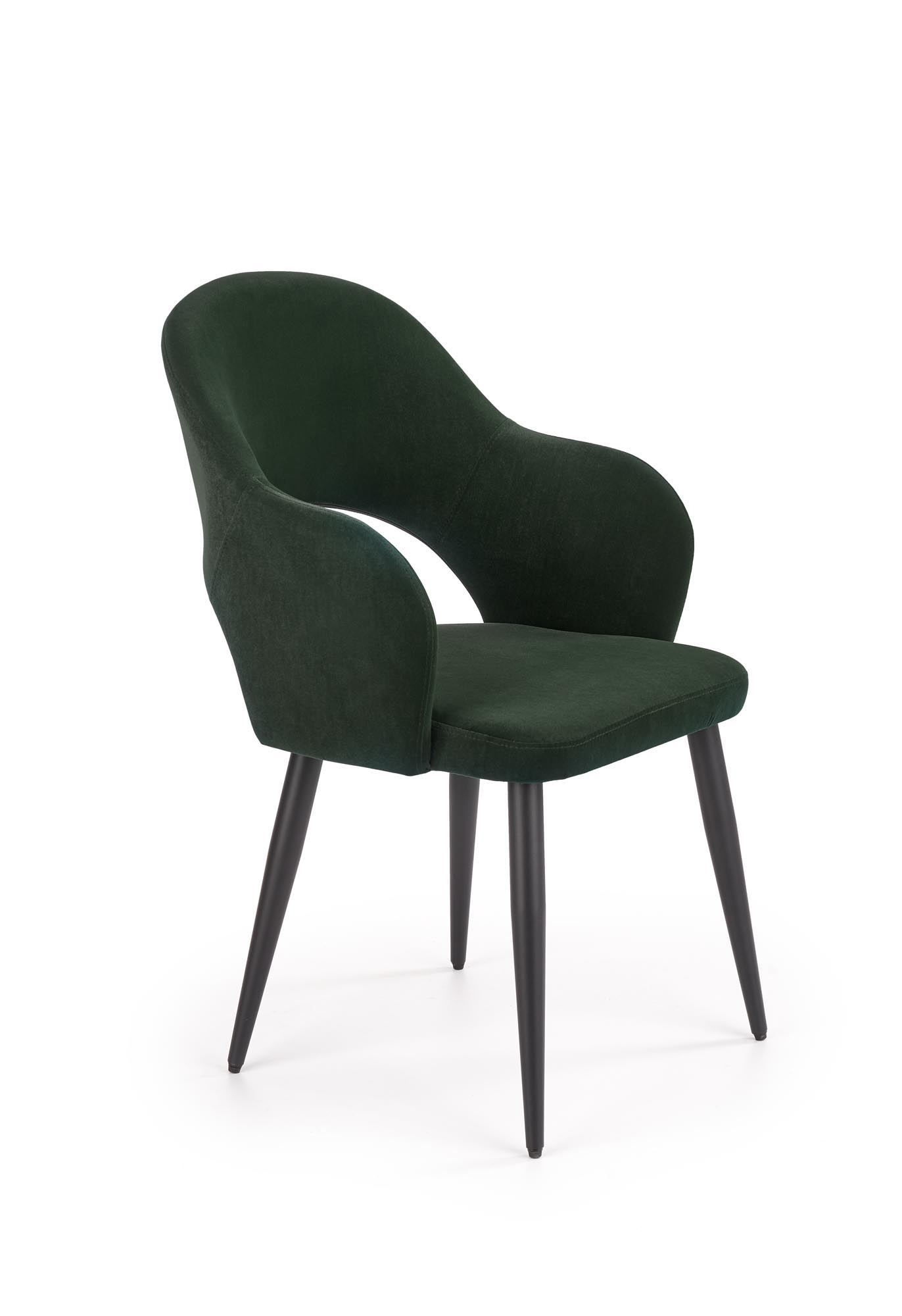 K364 krzesło ciemny zielony
