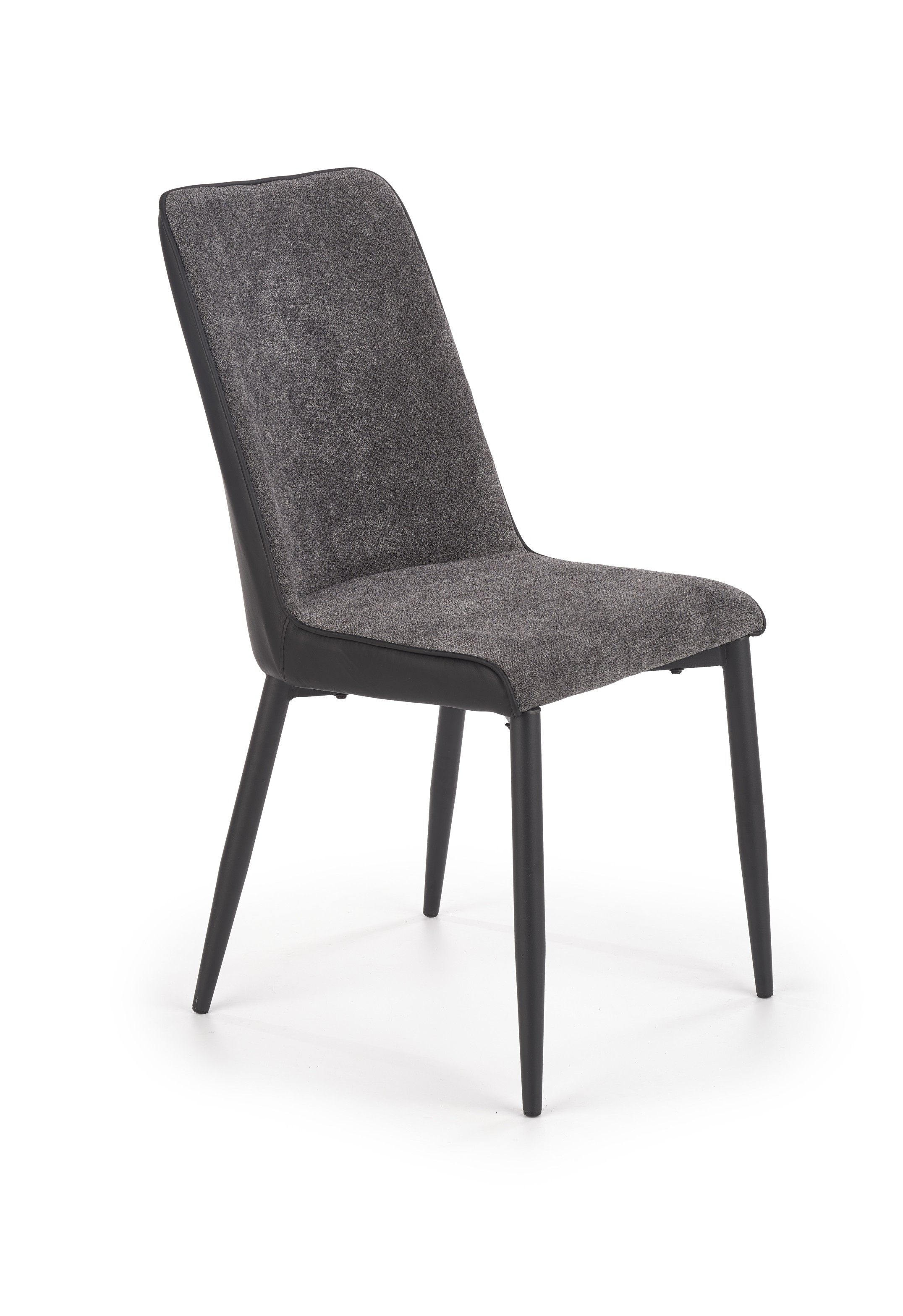K368 krzesło popielaty / czarny