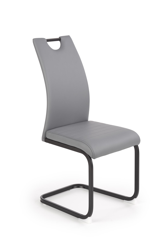 K371 krzesło popielaty