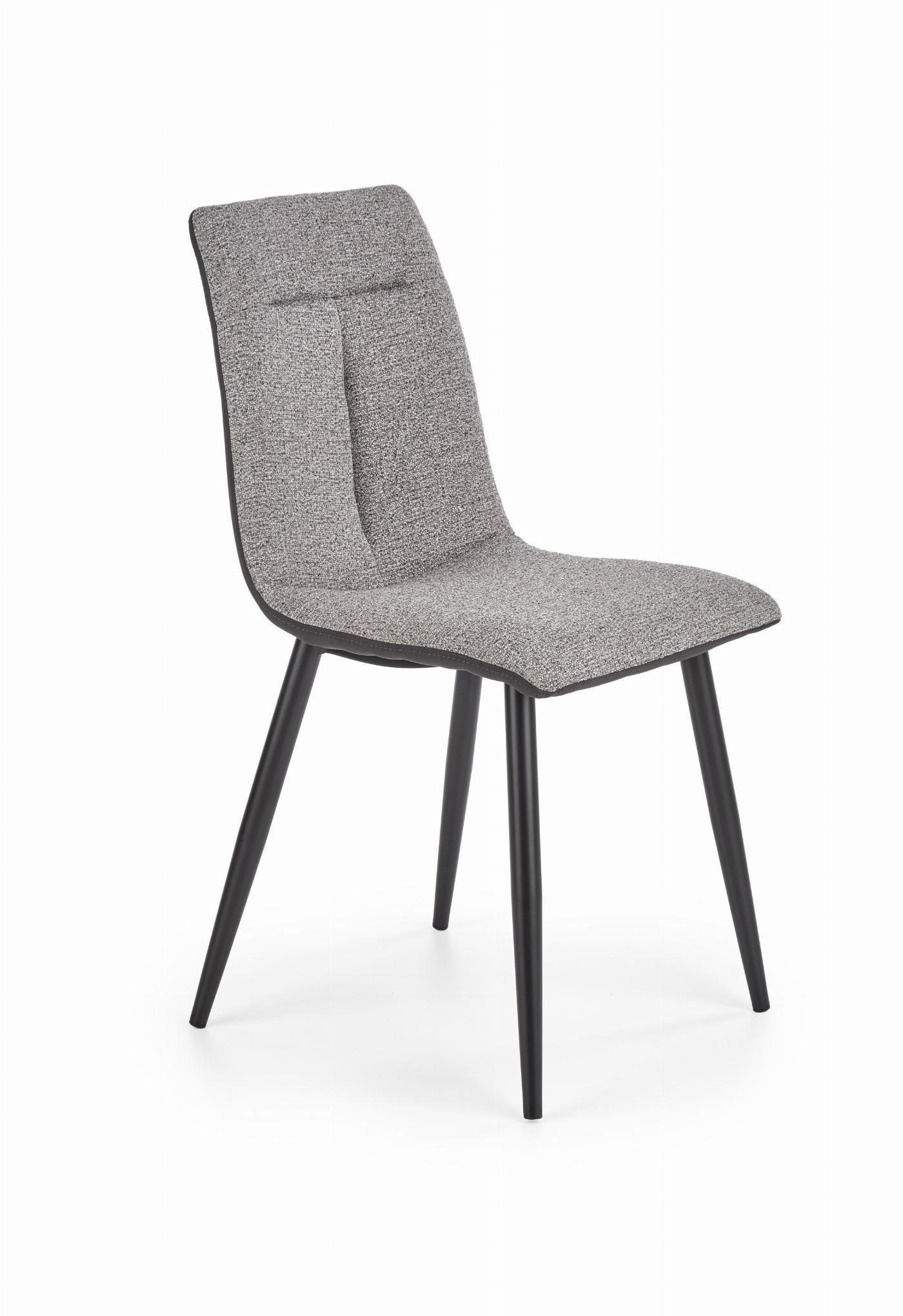 K374 krzesło popielaty
