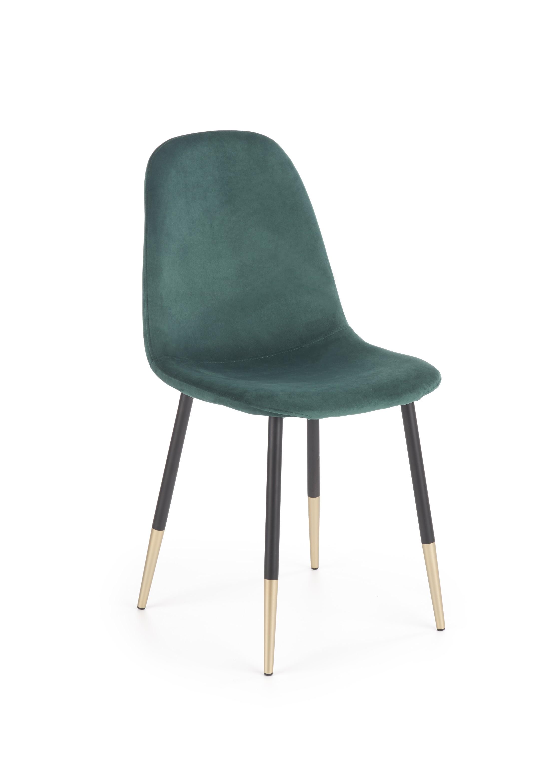 K379 krzesło ciemny zielony