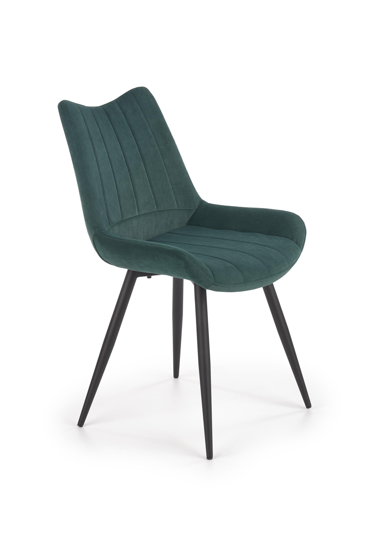 K388 krzesło ciemny zielony