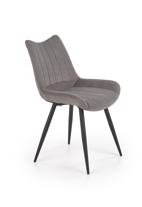K388 krzesło popielaty