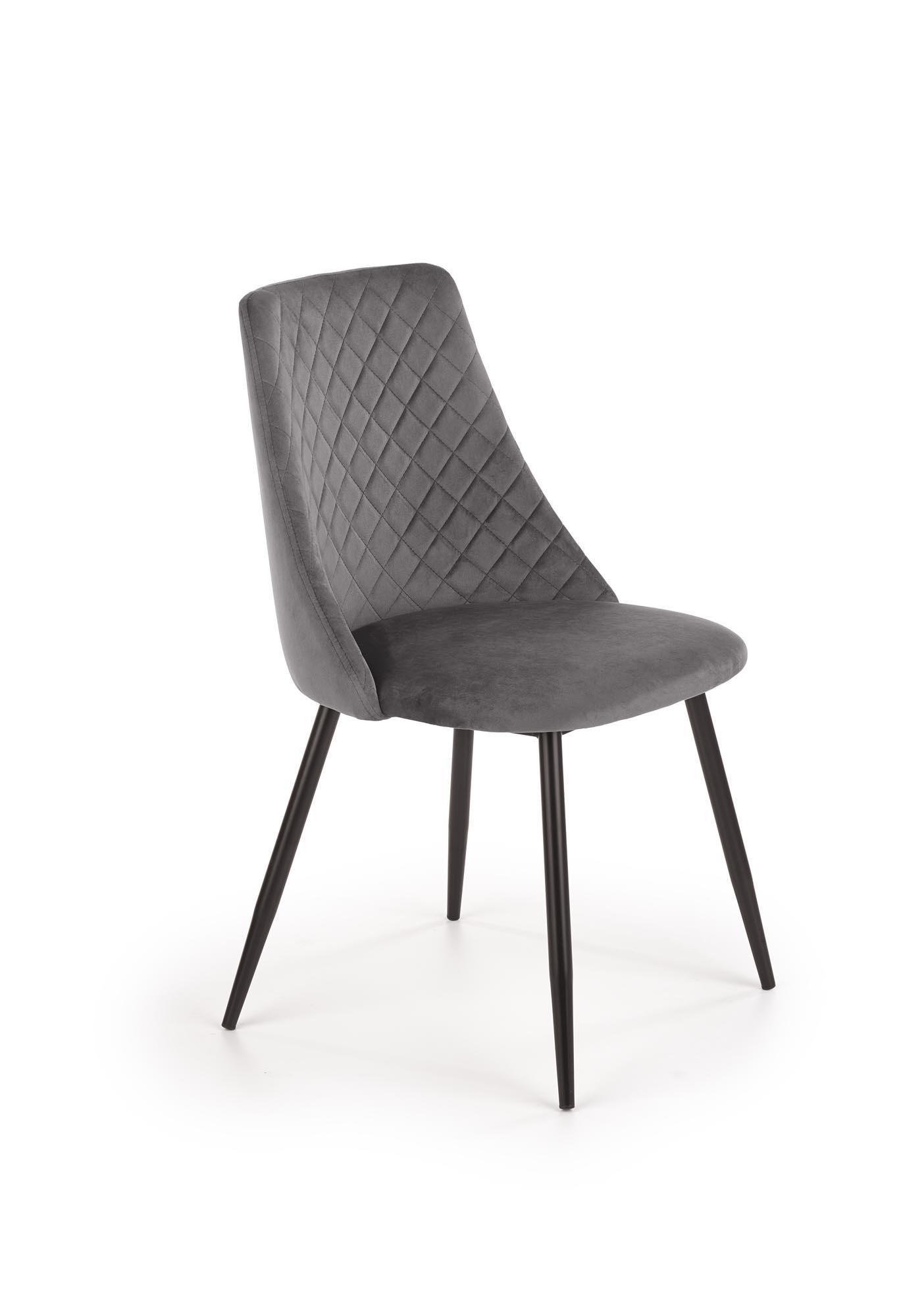 K405 krzesło popielaty
