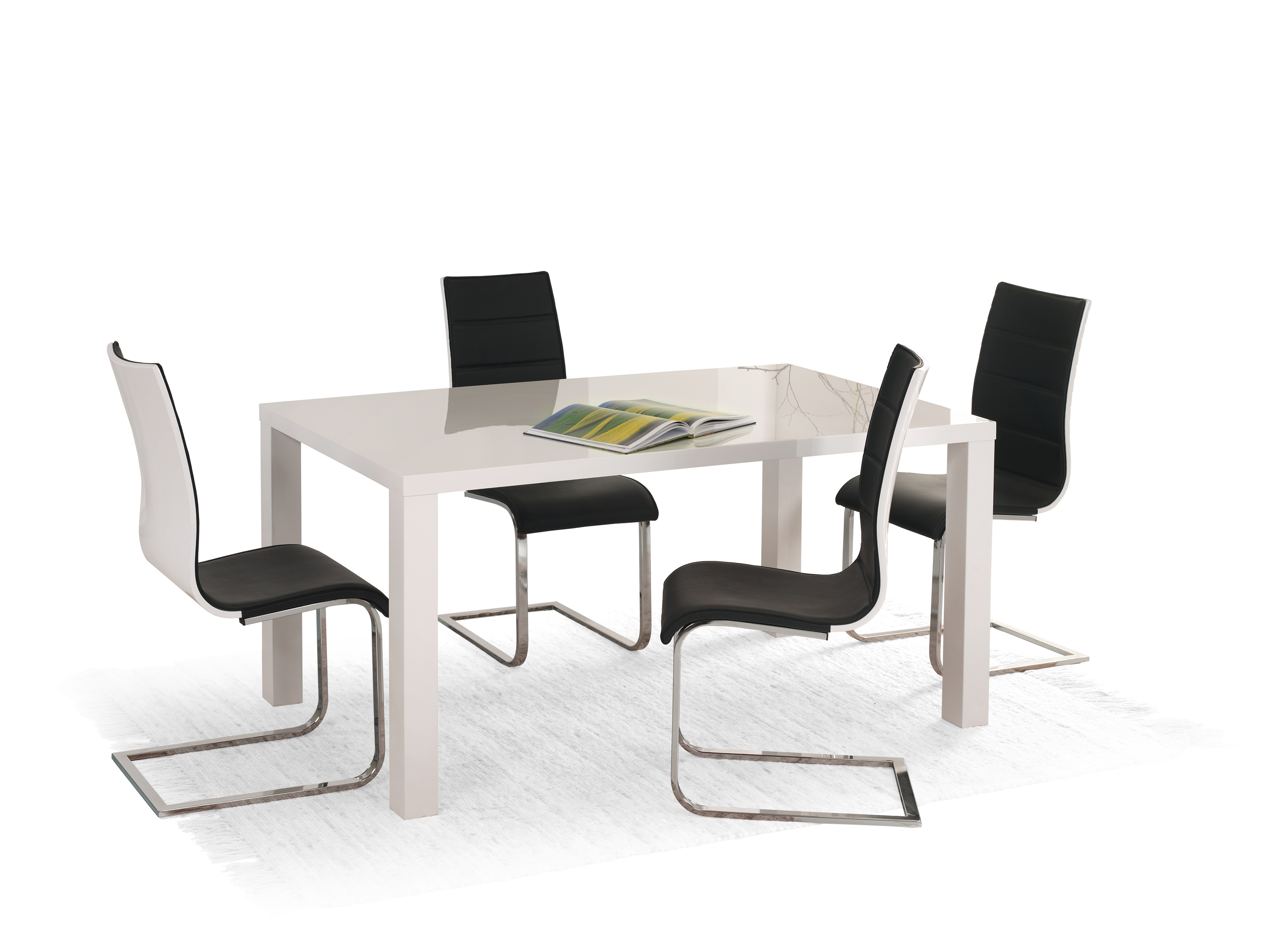 RONALD stół biały 120/80 (2p=1szt)