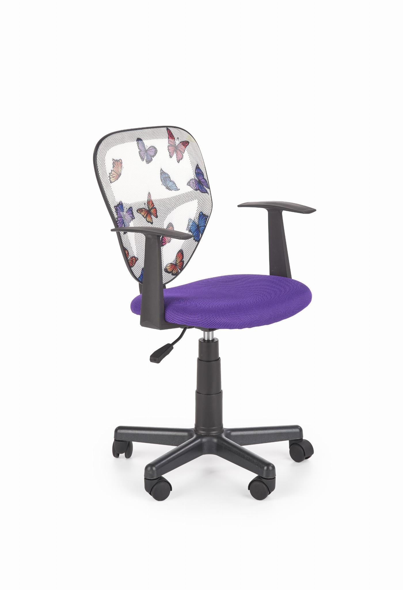 Krzesło obrotowe SPIKER fioletowy