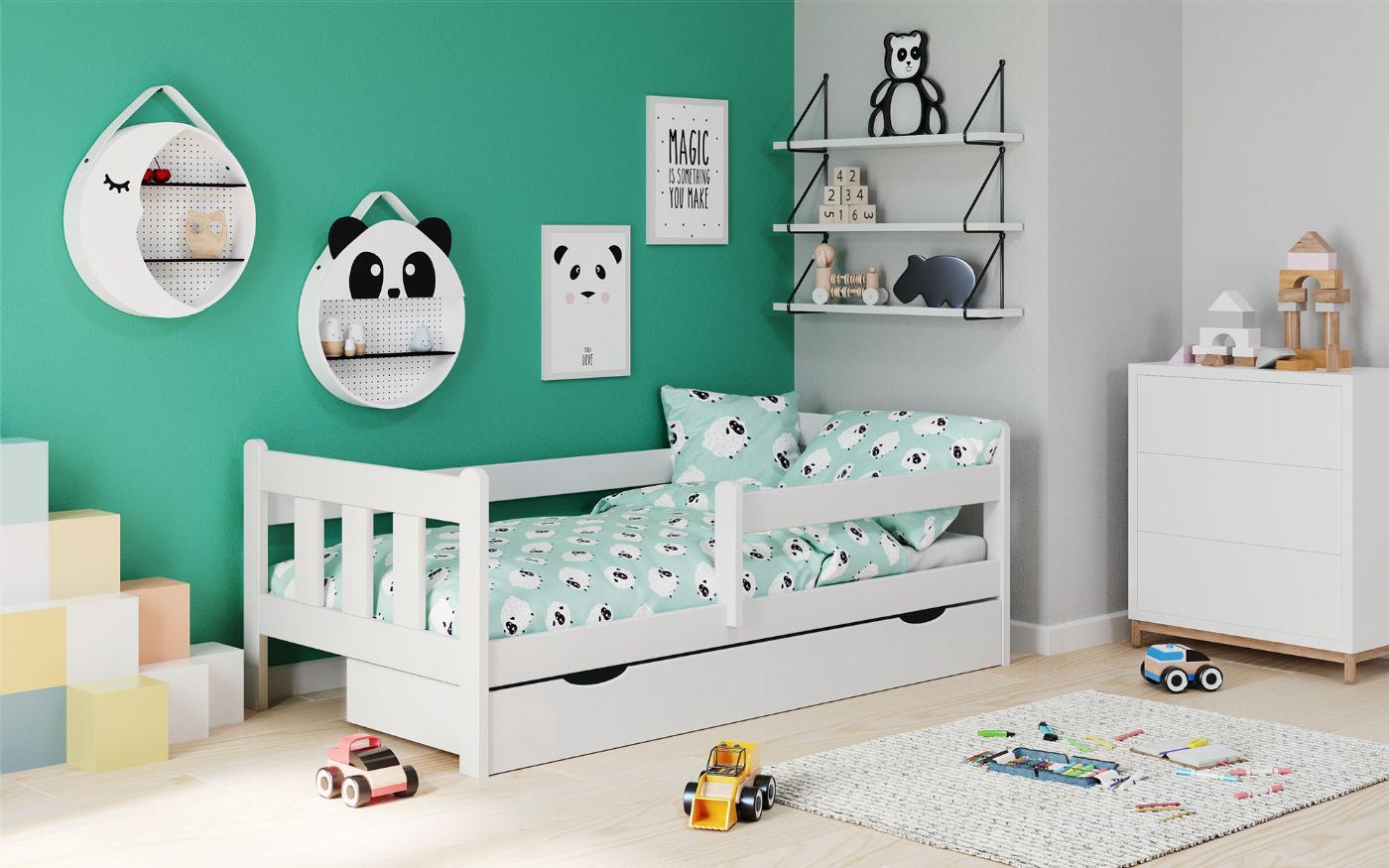 MARINELLA biały łóżko (1p=1szt)