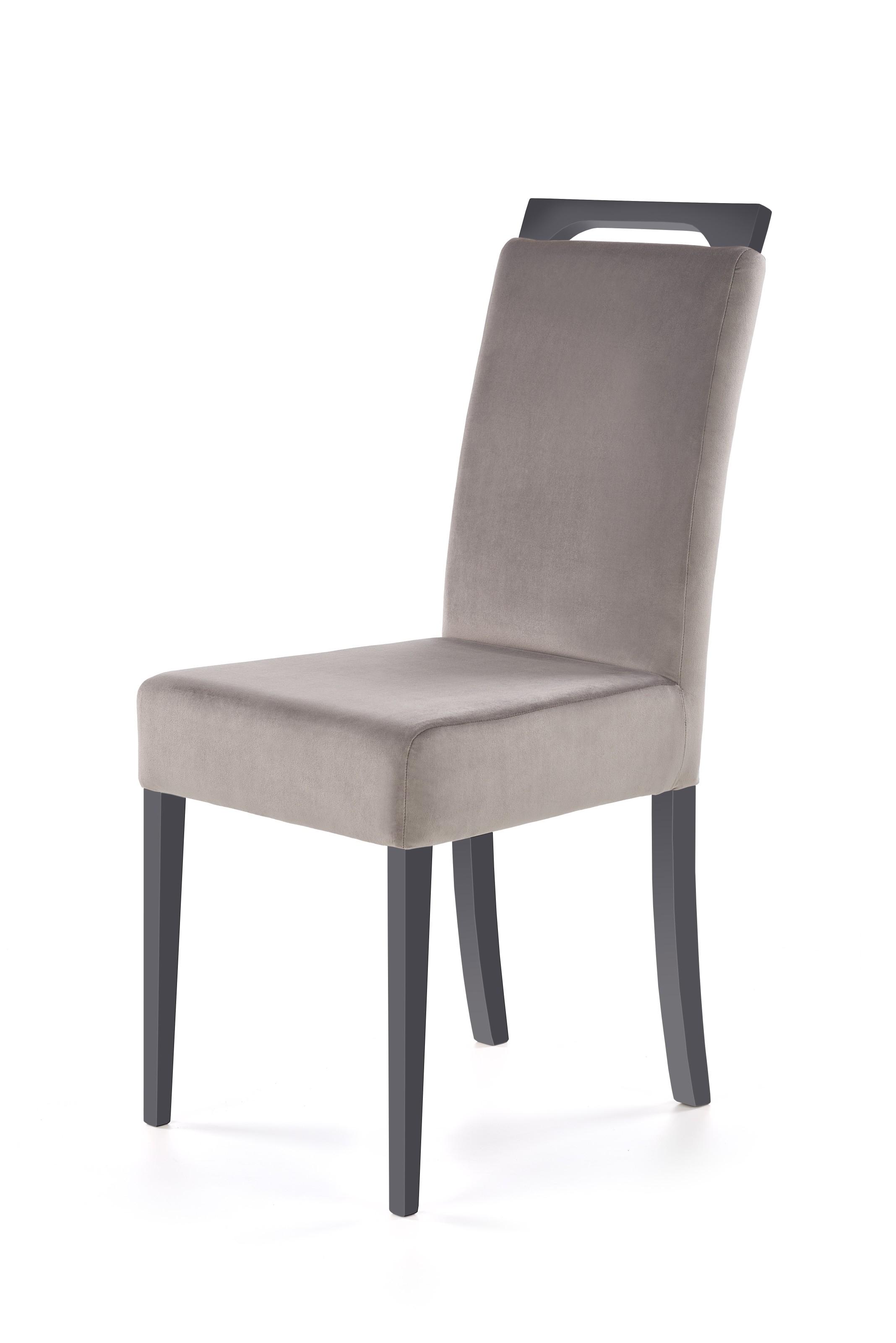 CLARION krzesło grafitowy / tap: RIVIERA 91 (1p=2szt)