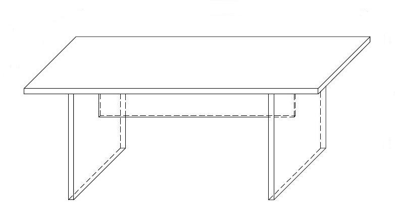 Biurko - dostawka CLASSIC CS6