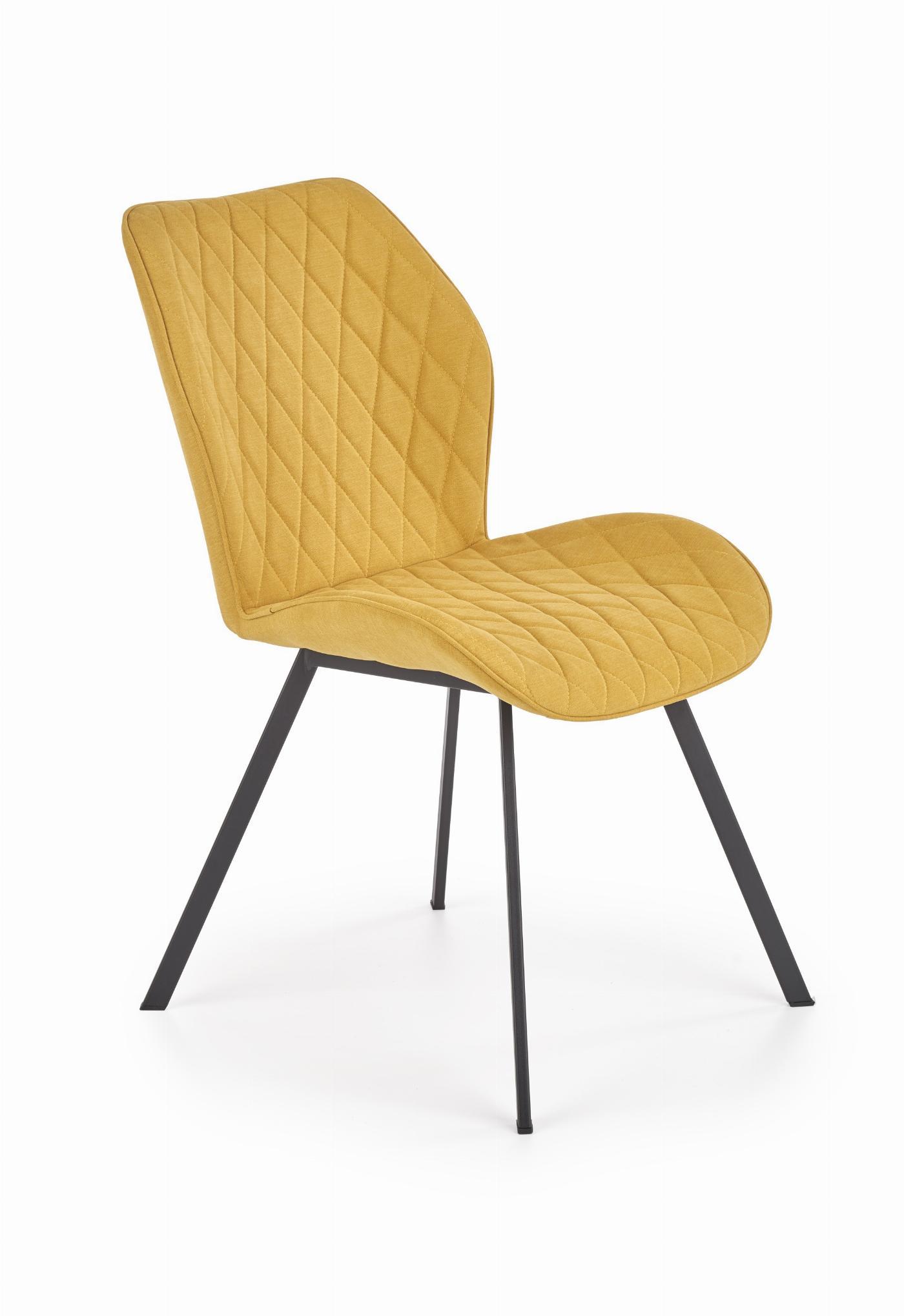 K360 krzesło musztardowy (1p=4szt)