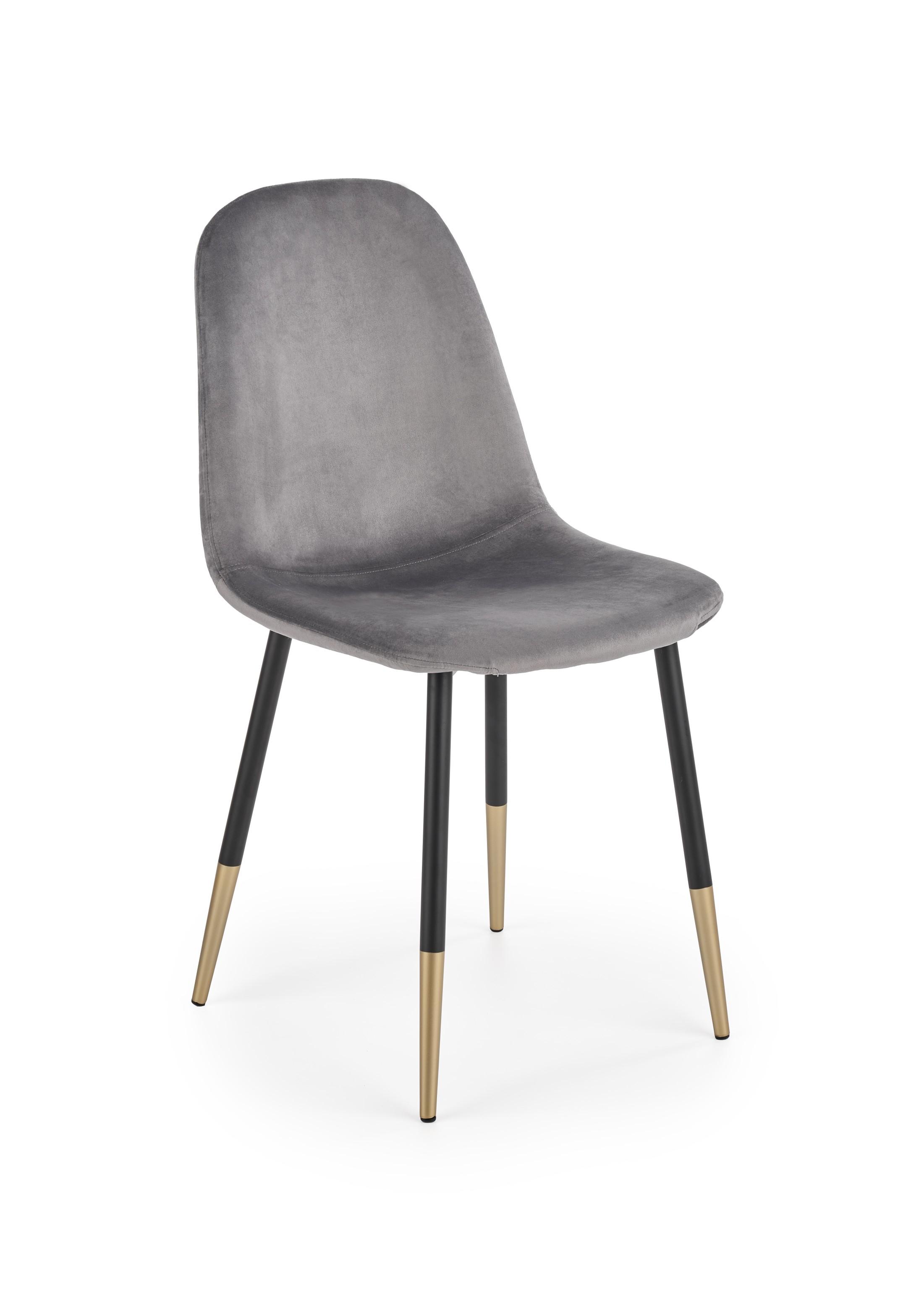 K379 krzesło popielaty (1p=4szt)