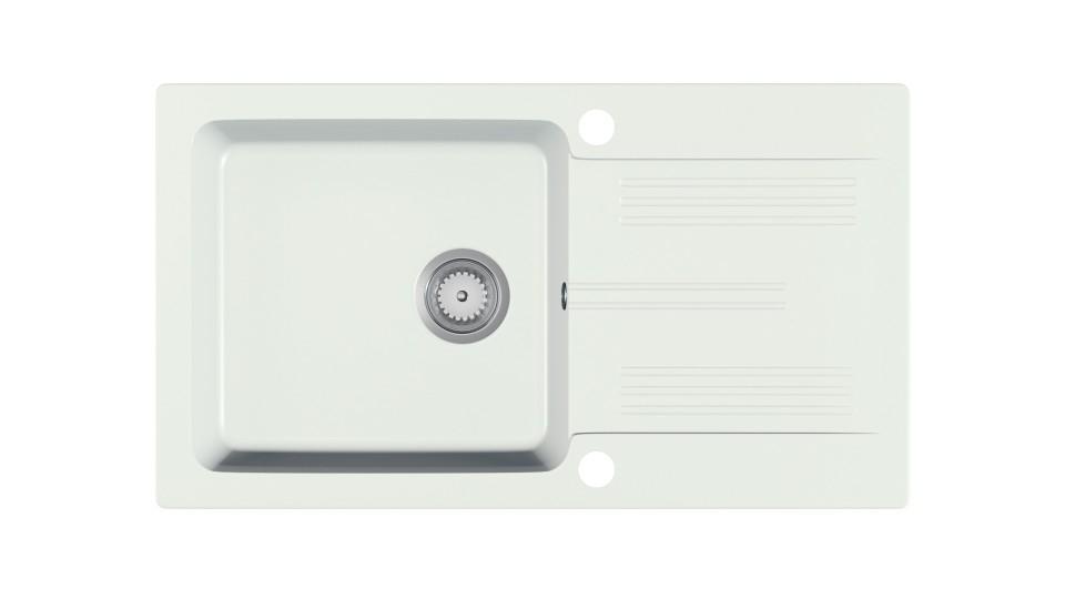 LANEO zlewozmywak granitowy biały (1p=1szt)