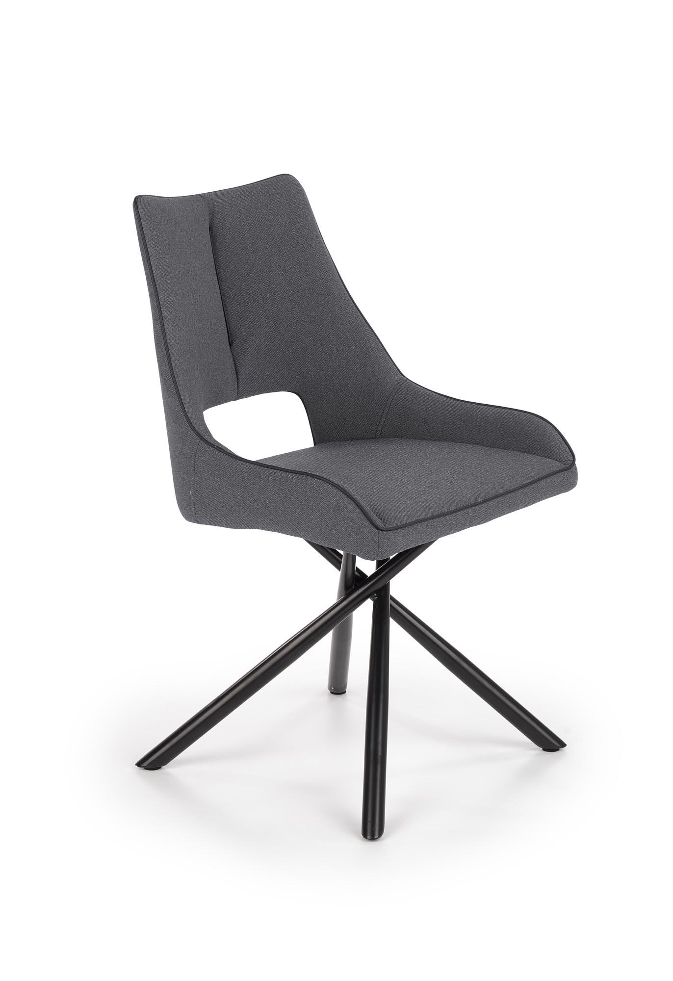 K409 krzesło popielaty