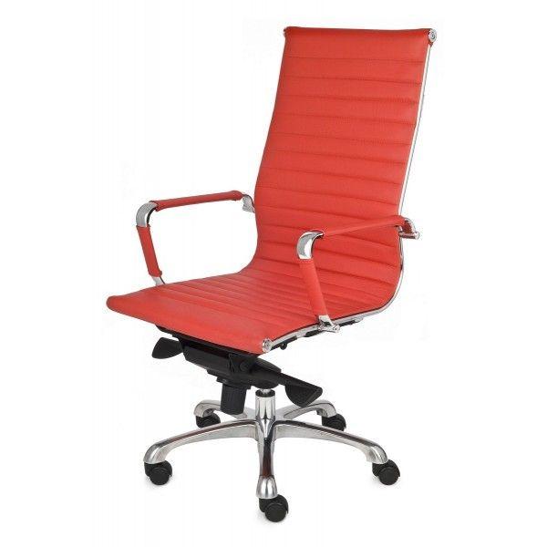 Fotel Biurowy obrotowy NEXT SN4 czerwony