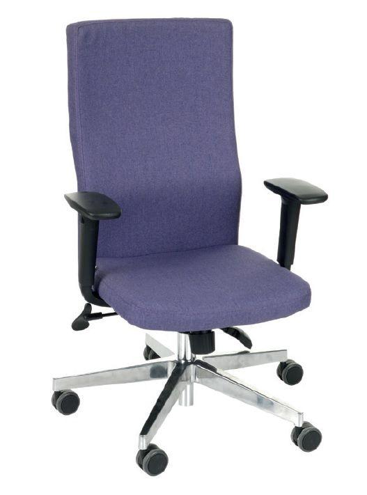 Fotel Biurowy obrotowy TEAM PLUS CHROME - różne tapicerki