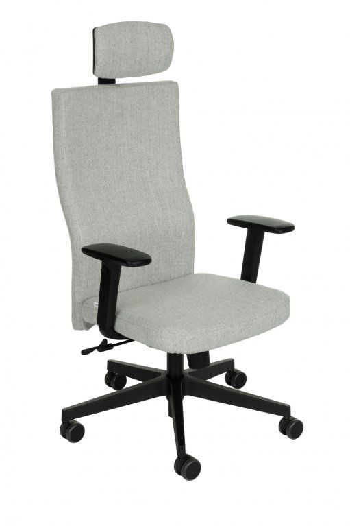 Fotel Biurowy obrotowy TEAM PLUS BLACK HD - różne tapicerki