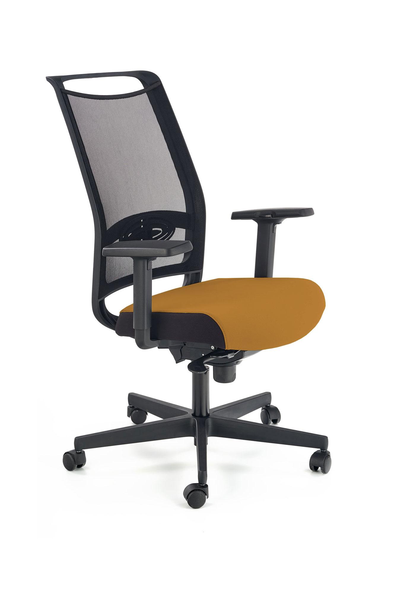 Fotel Biurowy Obrotowy GULIETTA Musztardowy