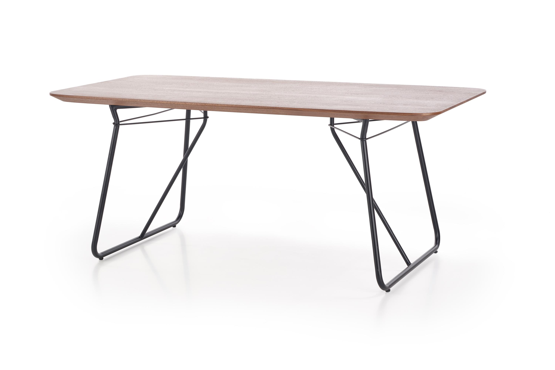 HOUSTON stół orzech / czarny (2p=1szt)