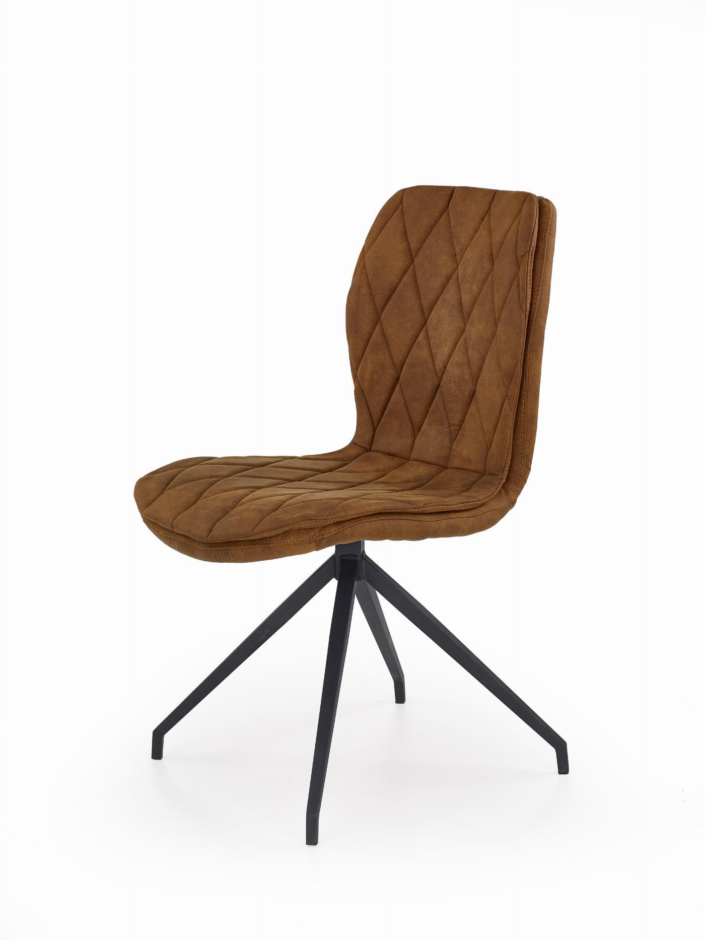 K237 krzesło brązowy (1p=2szt)