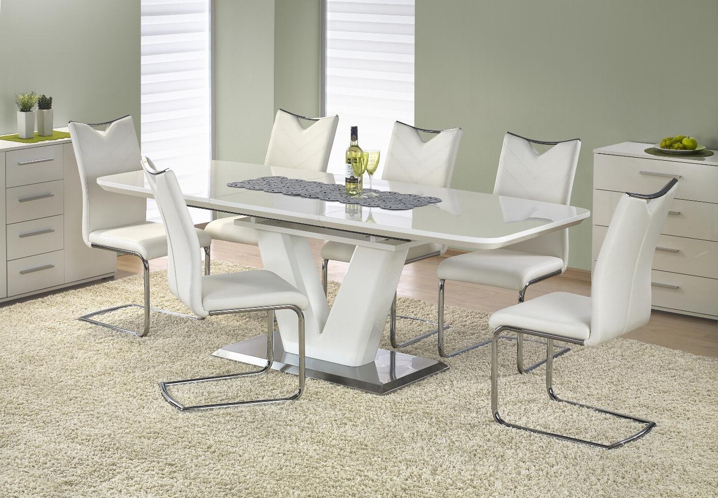 MISTRAL stół biały połysk (3p=1szt)
