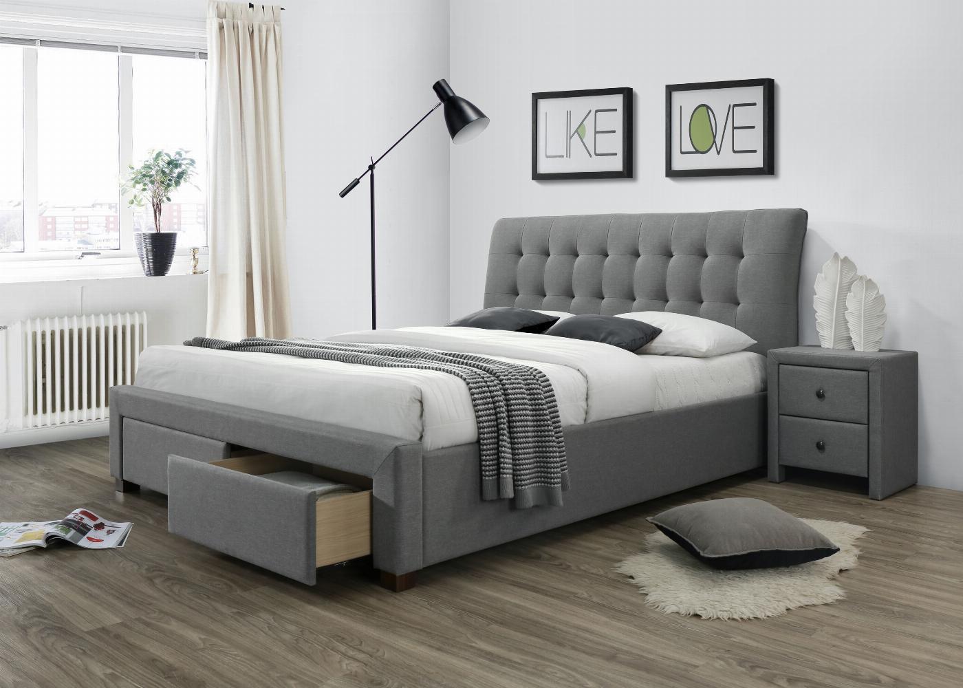 PERCY łóżko z szufladami popiel (5p=1szt)