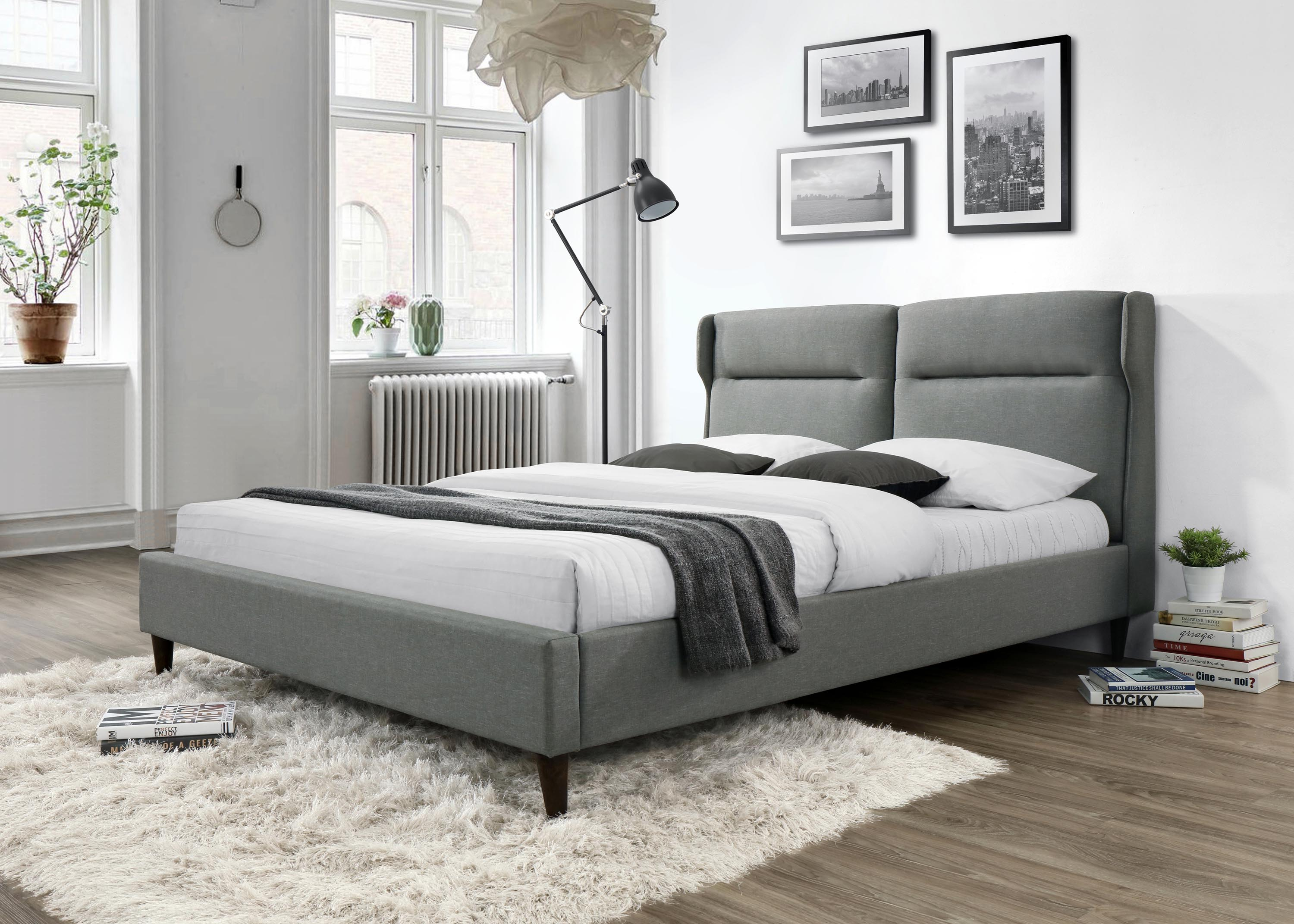 SANTINO łóżko popiel (2p=1szt)