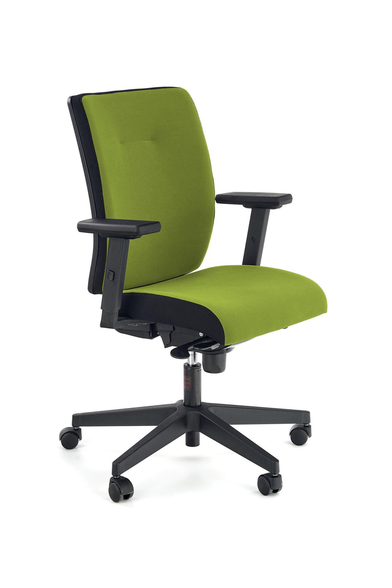 Fotel obrotowy POP zielony