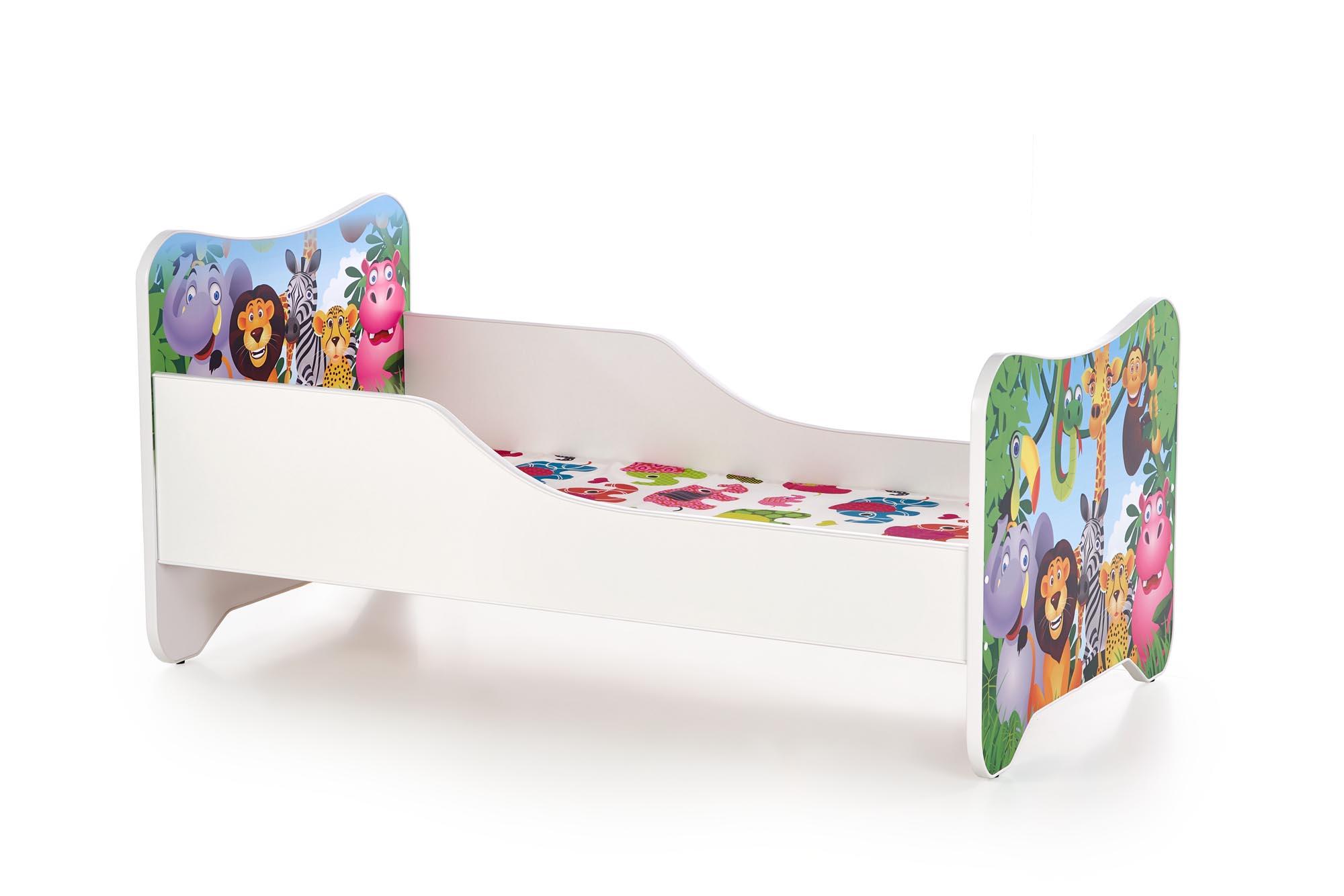 HAPPY JUNGLE łóżko wielobarwny (1p=1szt)