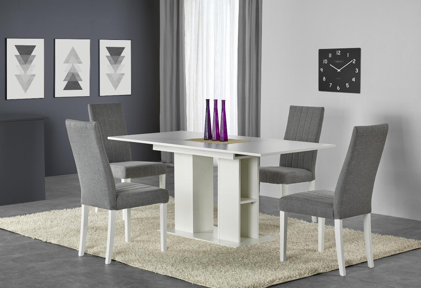 KORNEL stół biały (2p=1szt)