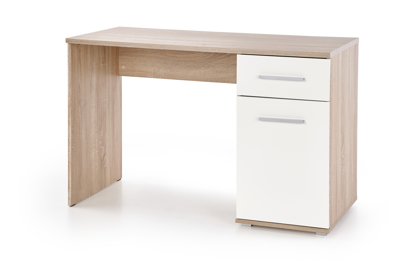 LIMA B-1 biurko dąb sonoma / biały (1p=1szt)