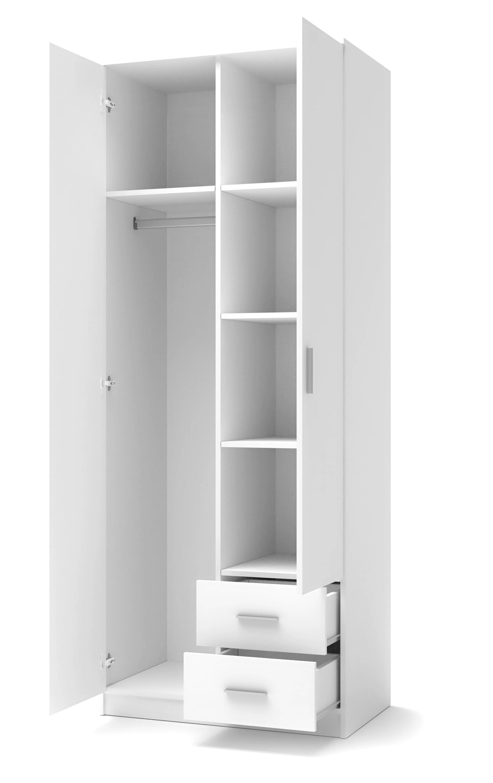 LIMA S-2 szafa biały (2p=1szt)