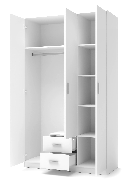 LIMA S-3 szafa biały (3p=1szt)