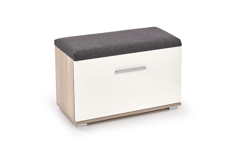 LIMA ST2 szafka na buty biały/sonoma (1p=1szt)