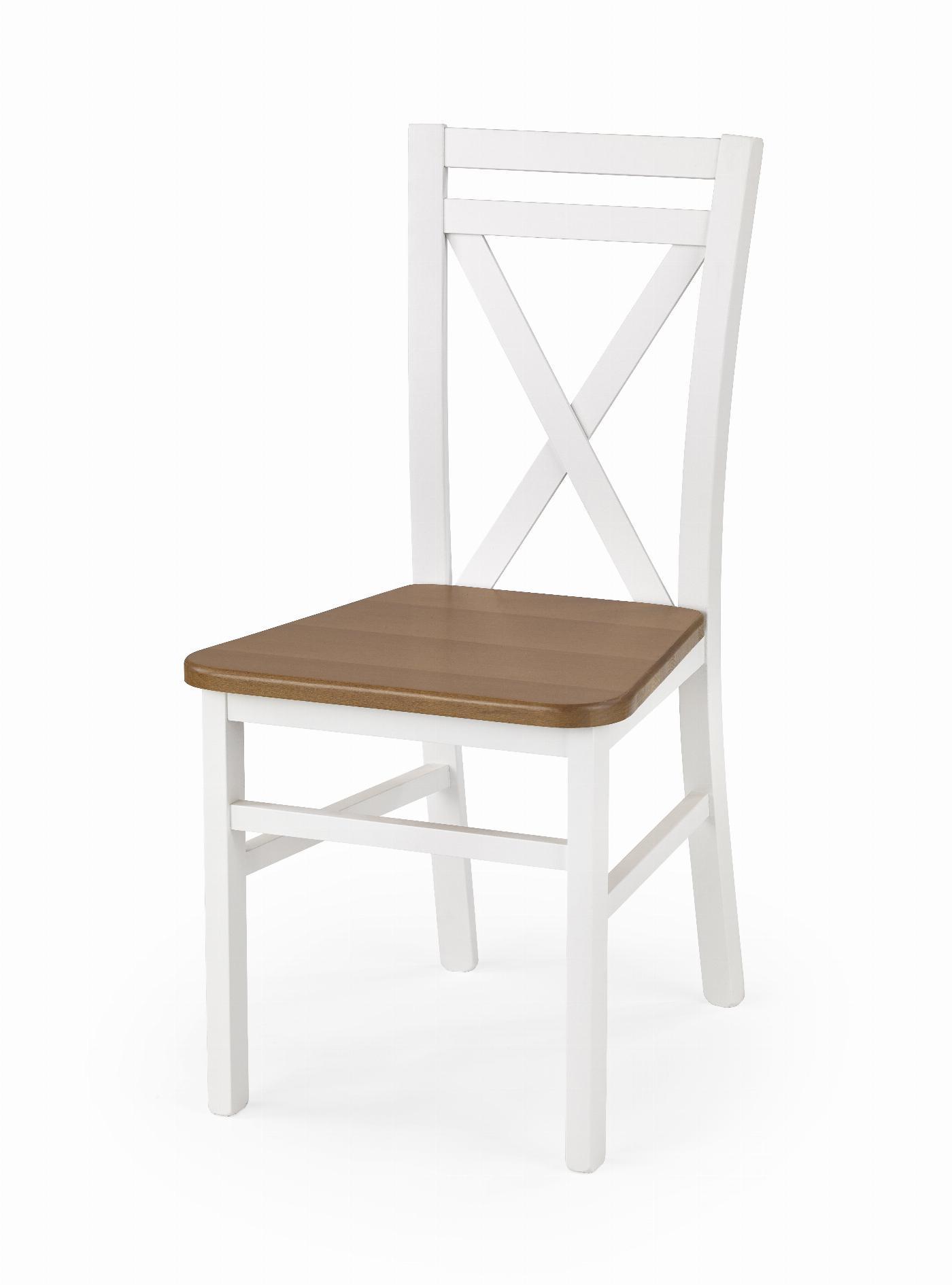 DARIUSZ 2 krzesło biały / olcha (1p=2szt)