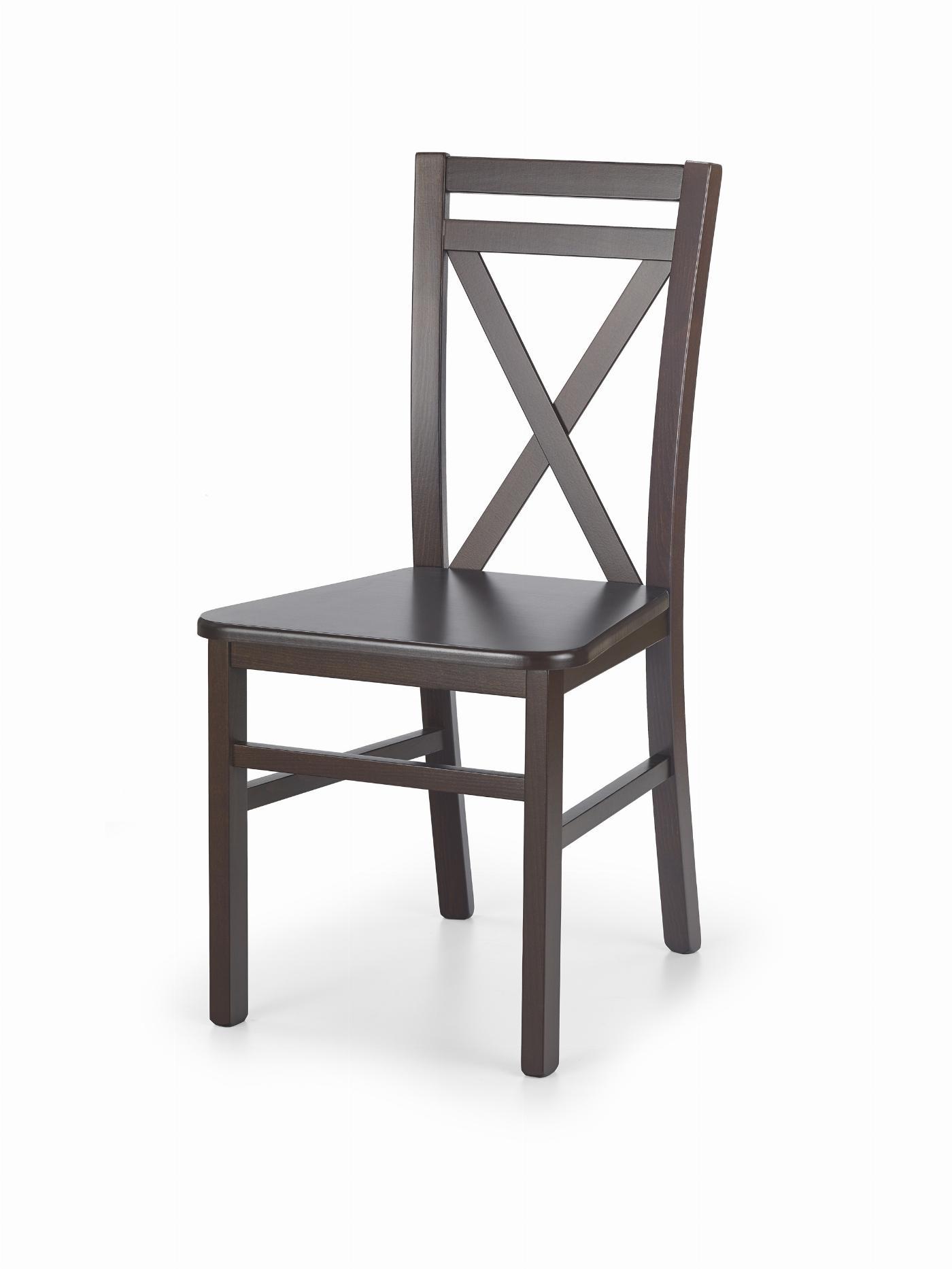 DARIUSZ 2 krzesło ciemny orzech (1p=2szt)