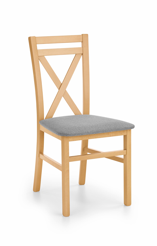 DARIUSZ krzesło dąb miodowy / tap: Inari 91 (1p=2szt)