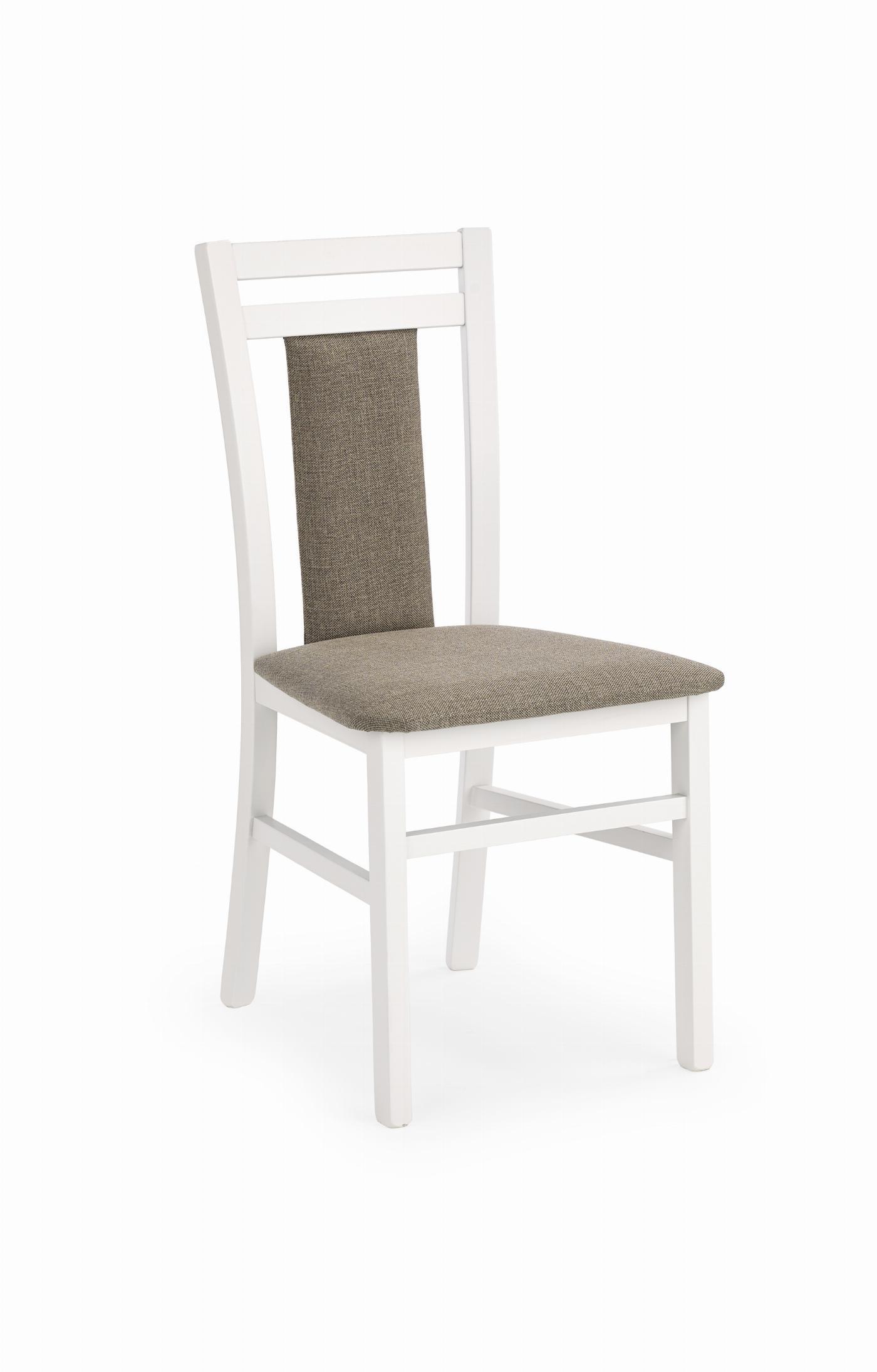 HUBERT8 krzesło biały / tap: Inari 23 (1p=2szt)