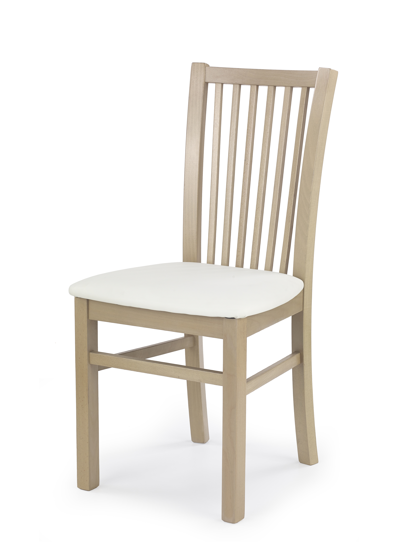 JACEK krzesło dąb sonoma / tap: MADRYT 121 (1p=2szt)