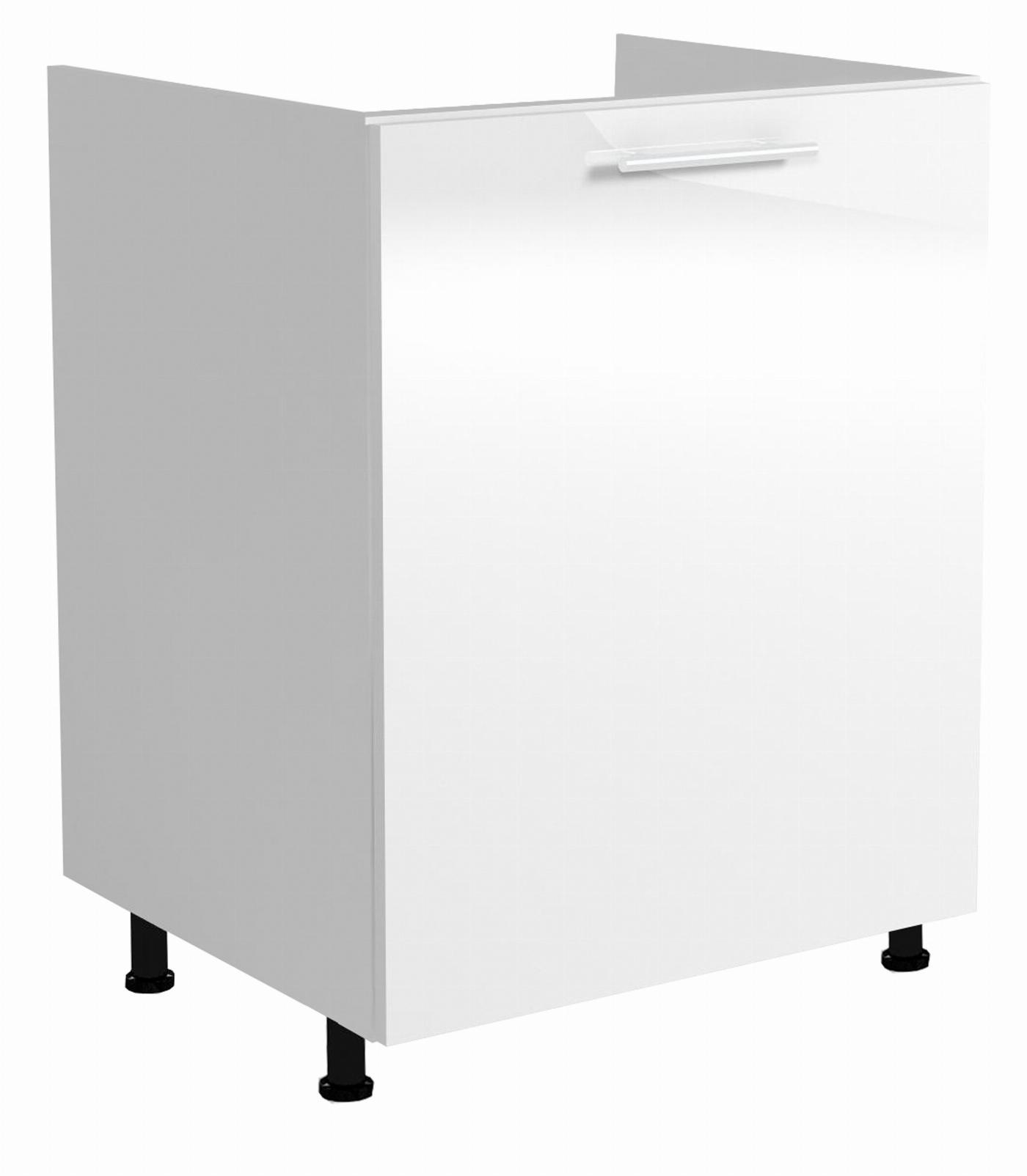 VENTO DK-60/82 szafka zlewozmywakowa front: biały (1p=1szt)
