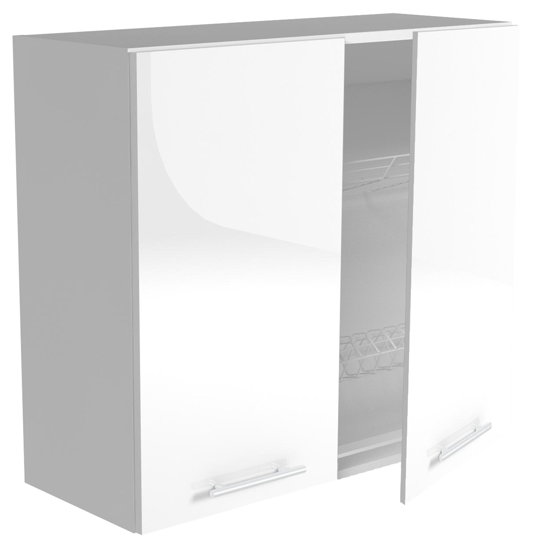 VENTO GC-80/72 szafka górna z ociekaczem, front: biały (2p=1szt)