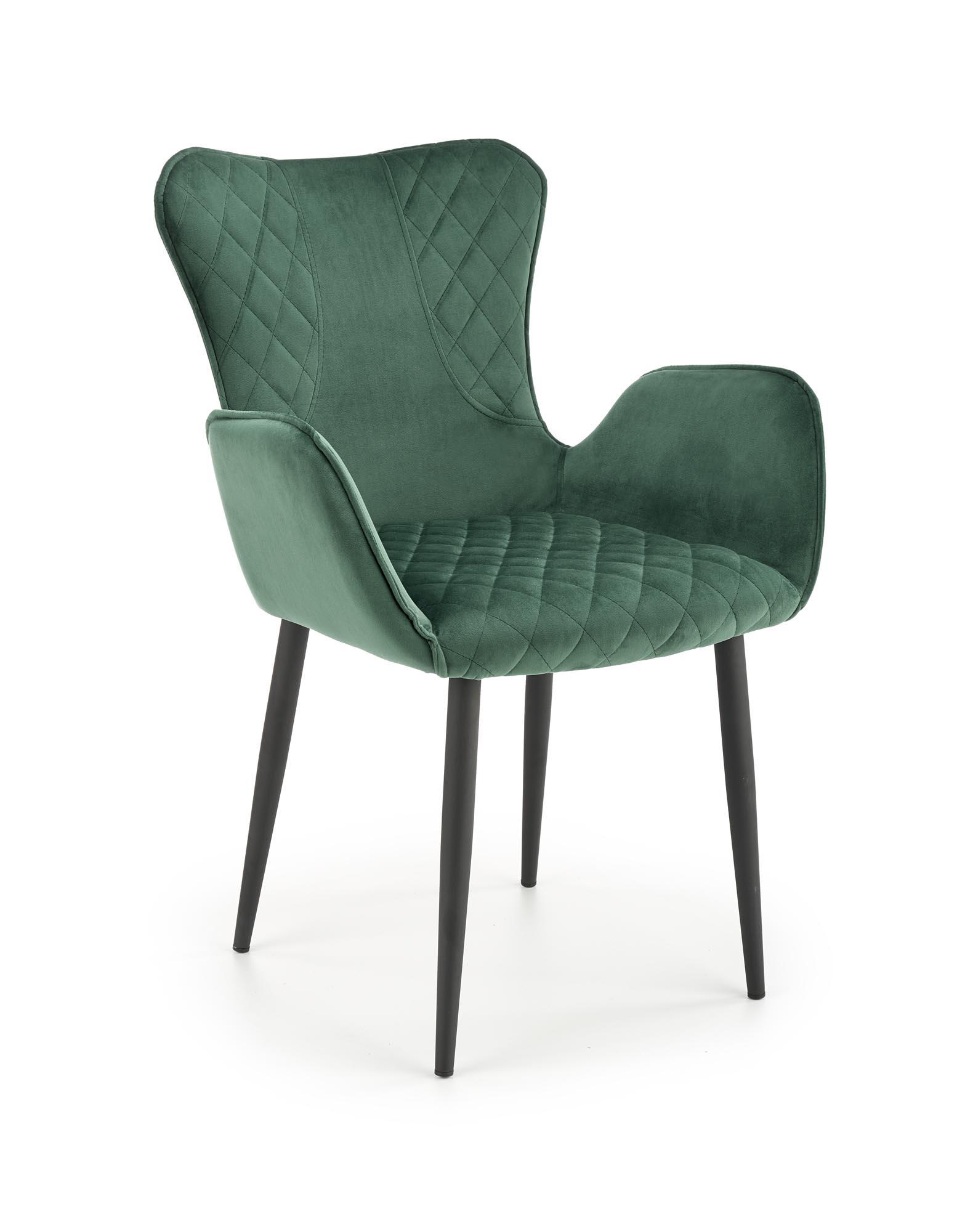 K427 krzesło ciemny zielony
