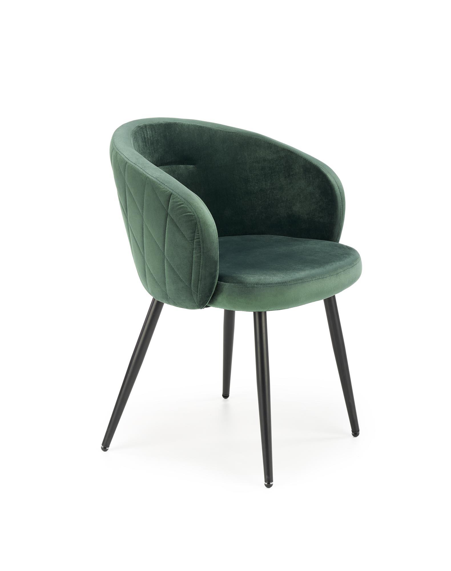 K430 krzesło ciemny zielony