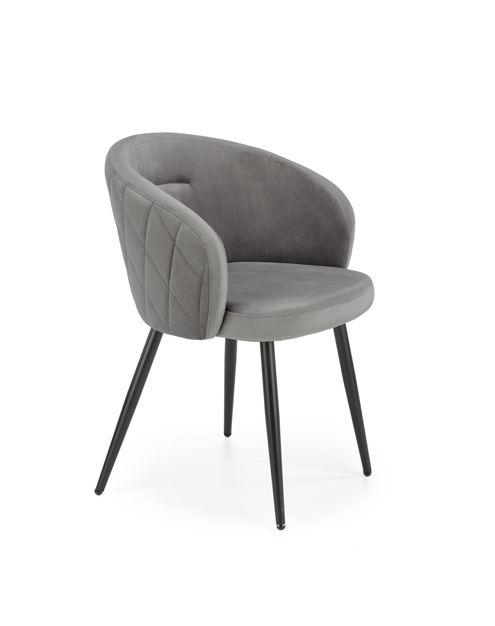 K430 krzesło popielaty