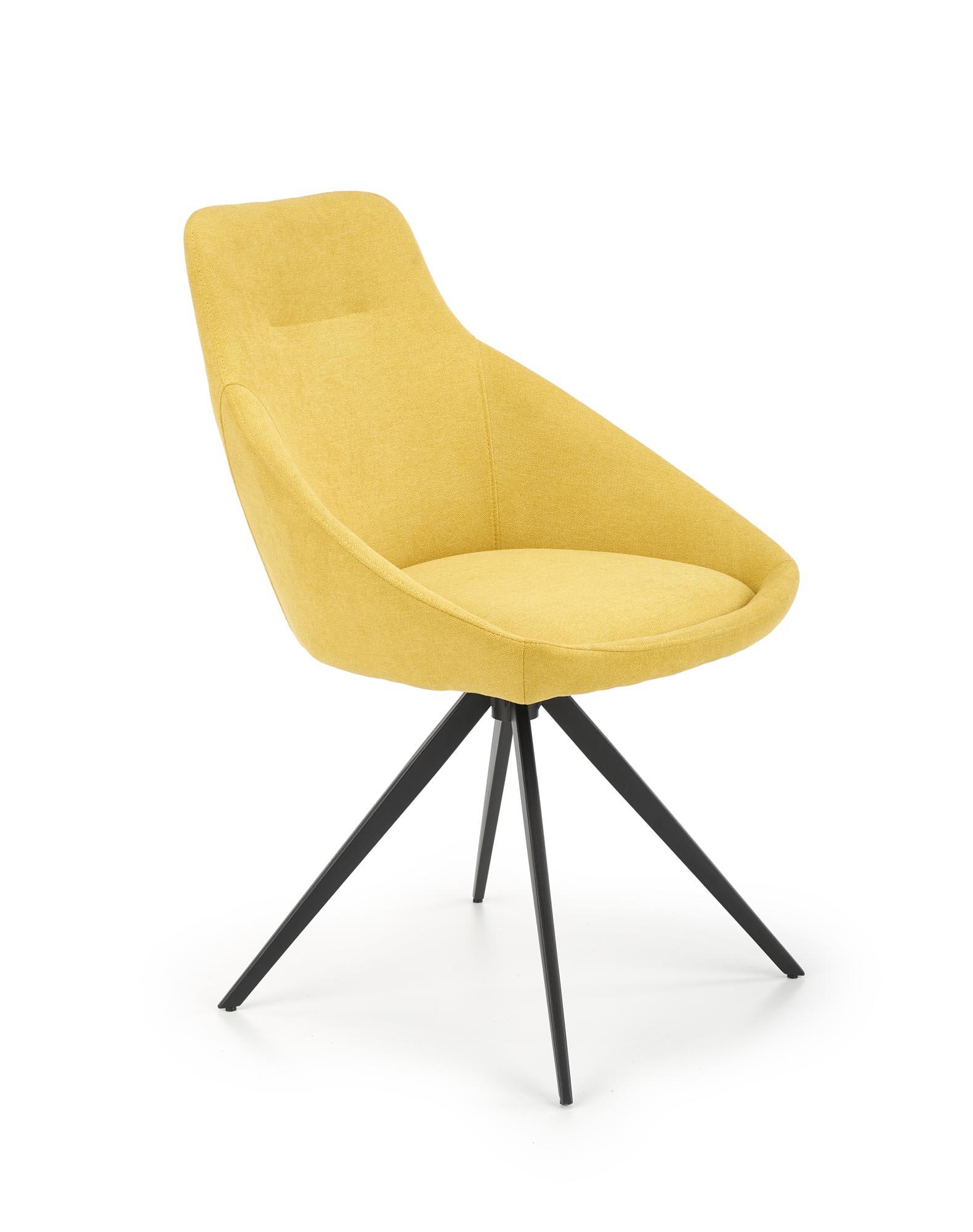 K431 krzesło żółty
