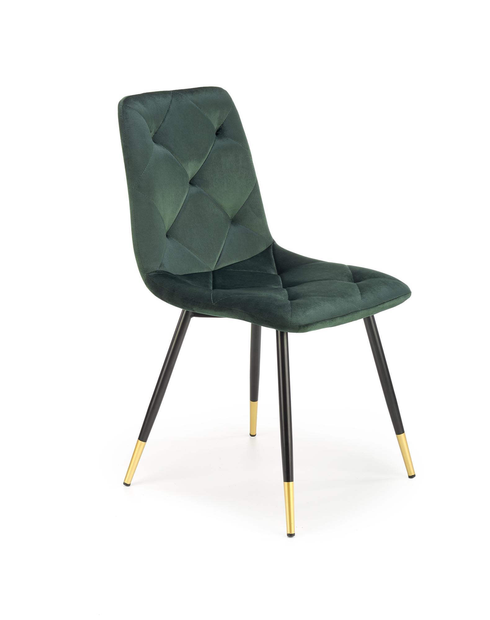 K438 krzesło ciemny zielony