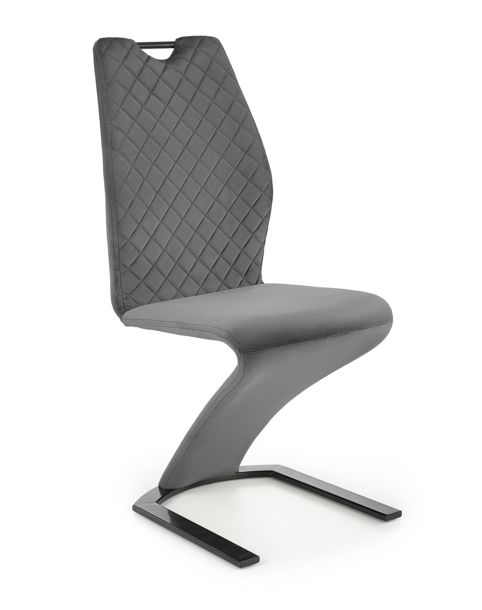K442 krzesło popielaty